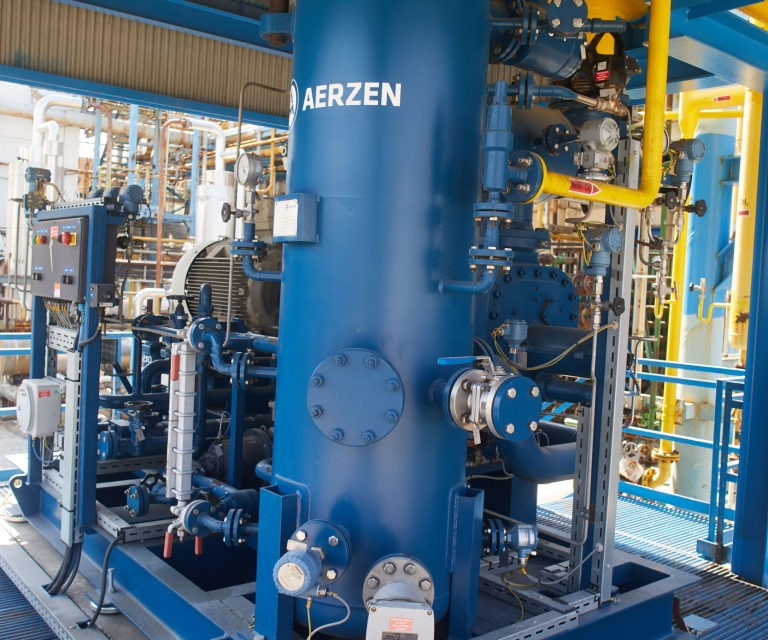 Argon üzem / Argon plant